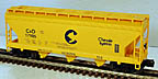 Lionel 6-17105 Chesapeake & Ohio 3-Bay ACF Hopper