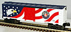 Lionel 6-36758 Patriotic Lighted Boxcar