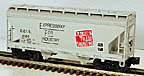 Lionel 6-52023 Detroit & Toledo ShoreLine 2-Bay Center Flow Hopper LCCA Dearborn, MI, Std. O