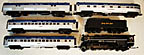 MTH Premier 20-3569-1 Nickel Plate Road 2-8-4 Berkshire Steam Engine Passenger Set, ProtoSound 3.0