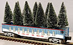 Lionel 6-26061 Lionelville Christmas Gondola with Trees
