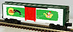 Lionel 6-36207 Vapor Records Happy Holidays Boxcar