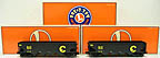 Lionel 6-26985 Baltimore & Ohio Die-Cast Hopper 2-Pack