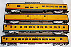 "Lionel 6-85360 Union Pacific Challenger 21"" Passenger Car 4-Pack"