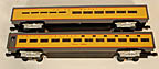 MTH Premier 20-6606 Union Pacific 70' Scale Aluminum Sleeper/Diner Add-On Passenger Set