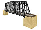Lionel 6-82110 FasTrack Extended Truss Bridge (works with other track systems too)