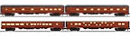 "Lionel 6-83022 Pennsylvania Broadway Limited 21"" Passenger Car 4-Pack"