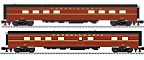 "Lionel 6-83002 Pennsylvania Broadway Limited 21"" Station Sounds 2-Unit Diner, Legacy Equipped"