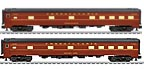 "Lionel 6-83007 Pennsylvania Broadway Limited 21"" Passenger Car 2-Pack"
