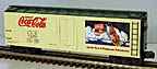 K-Line K762-5106 Coca-Cola O-Scale Wood-sided Reefer