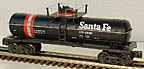K-Line K-634501 Santa Fe ATSF Single Dome Tank Car