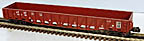 Weaver U17004LD Santa Fe ATSF Wartime Gondola with Drop Ends