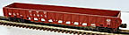 Weaver U17002LD New York Central Wartime Gondola with Drop Ends