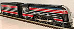 MTH 30-1708-1 Lehigh Valley Imperial Streamlined Crusader Steam Engine ProtoSound 3.0