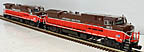 MTH 30-20345-1 & 30-20345-3 Providence & Worcester Dash-8 Diesel Powered and Non-Powered Units ProtoSound 3.0
