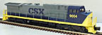 Williams DA9-02 CSX Dash-9 Diesel Engine
