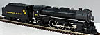 Lionel 6-38070 Chesapeake & Ohio 4-6-2 Pacific Steam Engine and Tender with TMCC