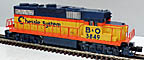 Lionel 6-28827 Chessie B&O GP-38 Diesel Engine