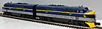 Lionel 6-38144 Chesapeake & Ohio F3 Diesel AA Engine Set