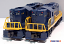 Williams GP-9-227 Chesapeake & Ohio GP-9 Powered Diesel Engine & Dummy Unit