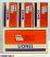 Lionel 6-26973 Getty Die-Cast Tank Car 3-Pack